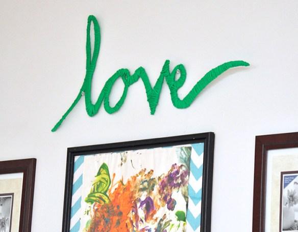 letras papelao revestido linha decoracao parede love faca voce mesmo diy