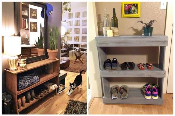 movel organizar sapatos entrada casa apartamento estante aparador 3