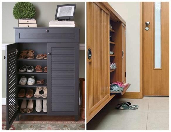 movel organizar sapatos entrada casa apartamento sapateira buffet