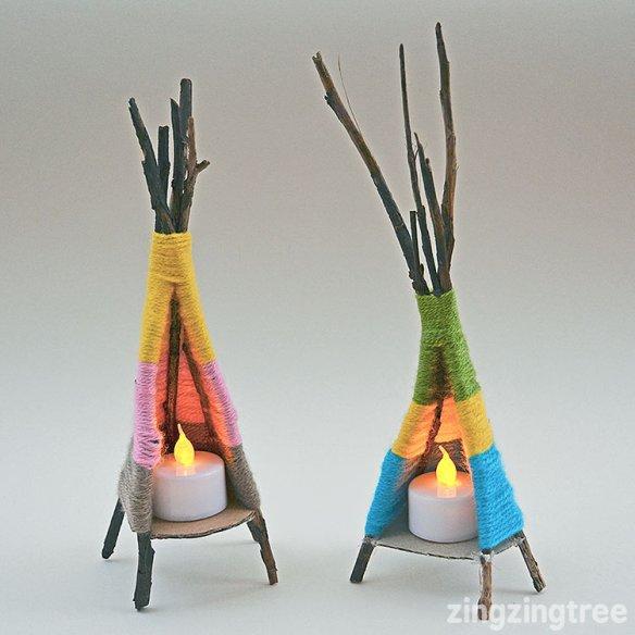 porta velas criativo faca voce mesmo diy