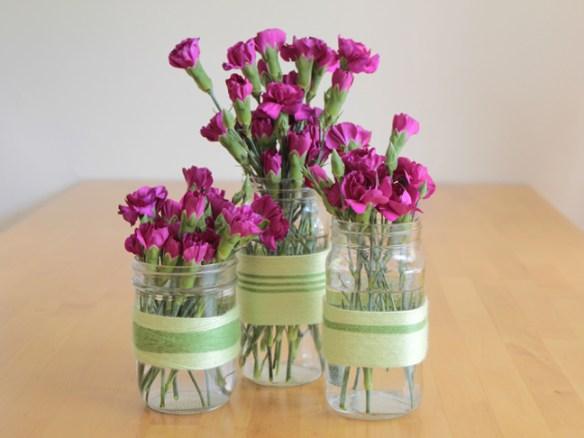 potes vidro decorados ideias baratas rapidas faceis decoracao reciclagem reutilizacao