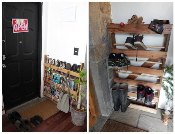 suporte vertical sapatos organizacao porta entrada sapateira vertical arrumar guardar calcados hall entrada faca voce mesmo diy
