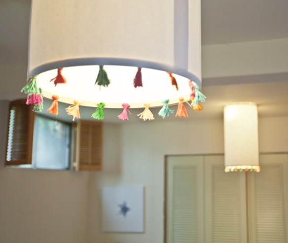 tassel pingente franja decoracao luminaria