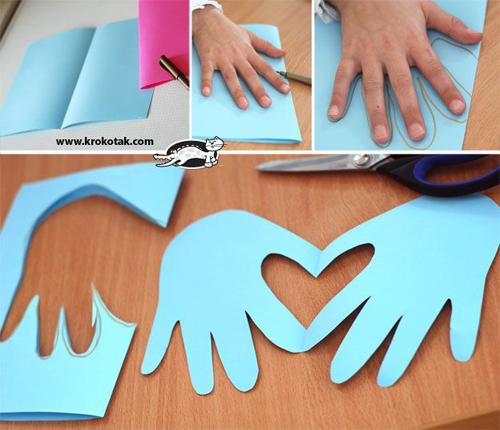 atividades recorte criancas papel dobrado artes