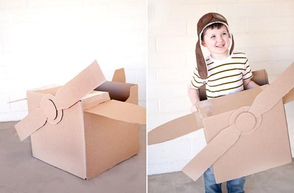 brinquedos caixa de papelao aviao faca voce mesmo diy