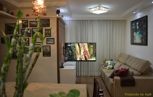 suporte articulado TV painel