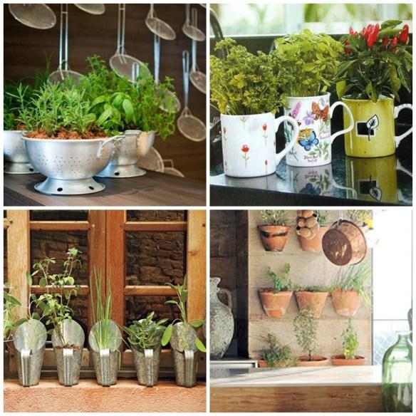 hortas em casa