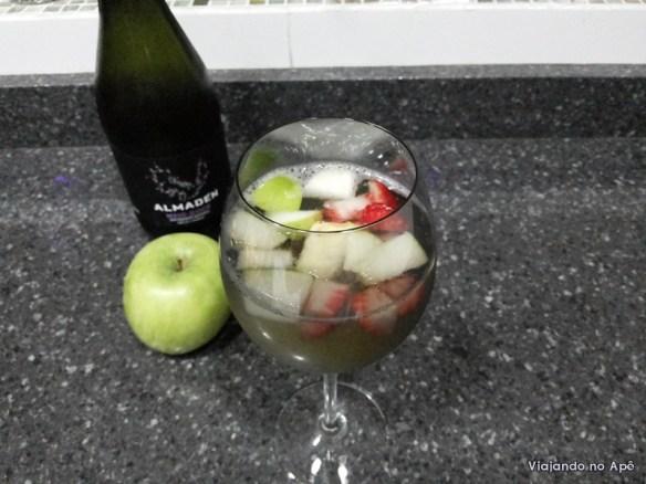 drink para o verao frutas