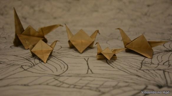 tsuru grou dobradura origami