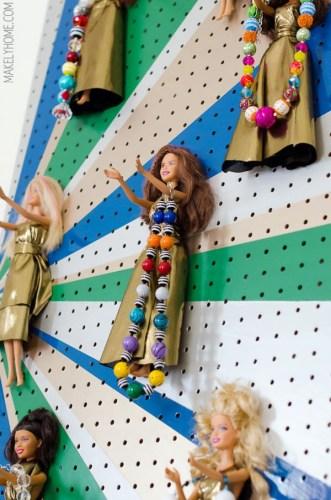 barbie porta joias
