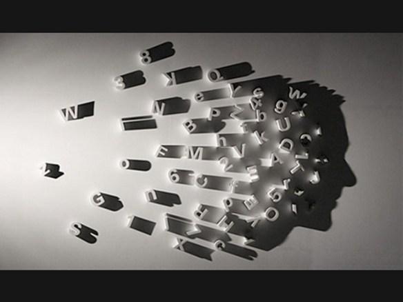 letras numeros parede sombra