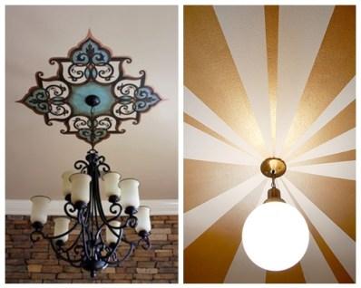decoracao teto lustre luminaria