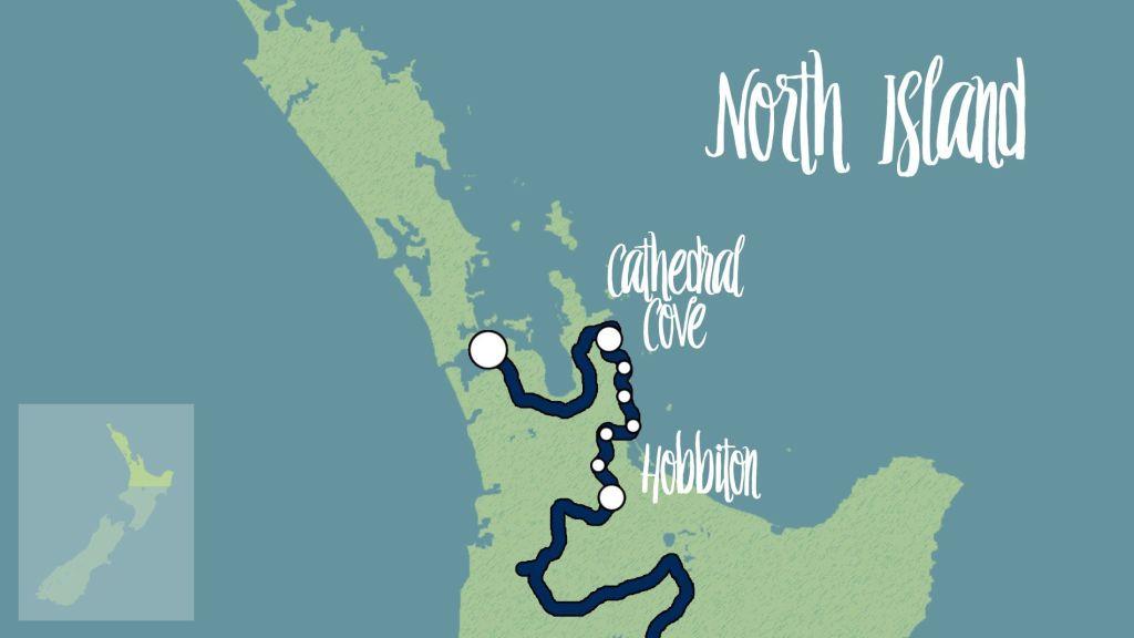 mapa ruta día 2