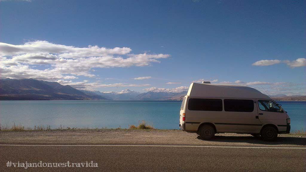 lago pukaki road trip