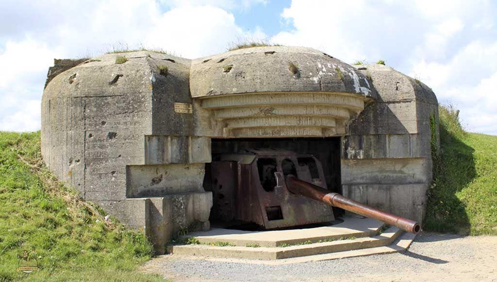 Batería alemana de Longues-sur-Mer
