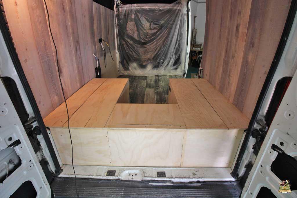 Cómo hacer muebles para furgonetas camper