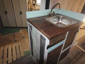 mueble fregadero para furgoneta camper
