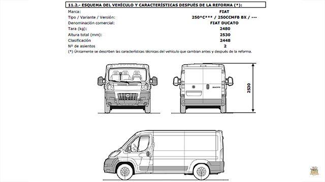 homologar una furgoneta camper