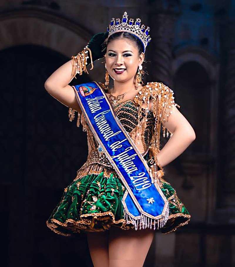 [Fotos] Reina del Carnaval de Juliaca 2019