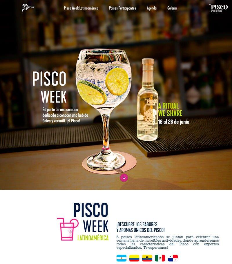 Pisco Week LATAM busca impulsar consumo de nuestra bebida nacional en América Latina
