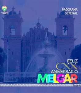 Puno: Programa del 120 aniversario de la provincia de Melgar