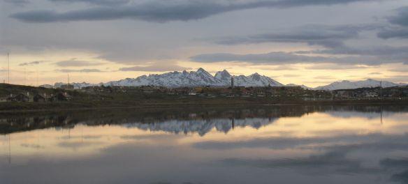 Ushuaia laguna encerrada
