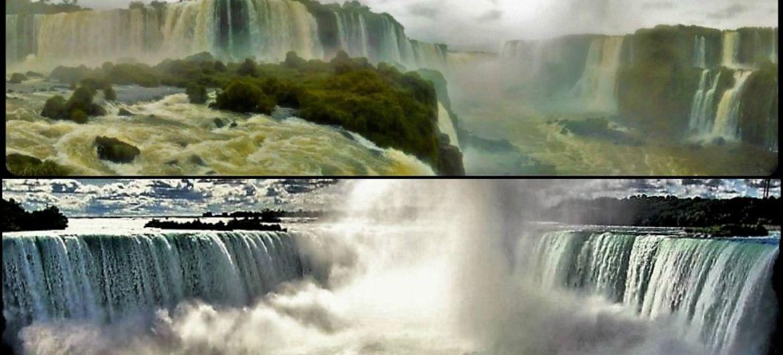 cataratas Iguazu y Niagara