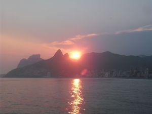 Llegar a Rio fue una odisea