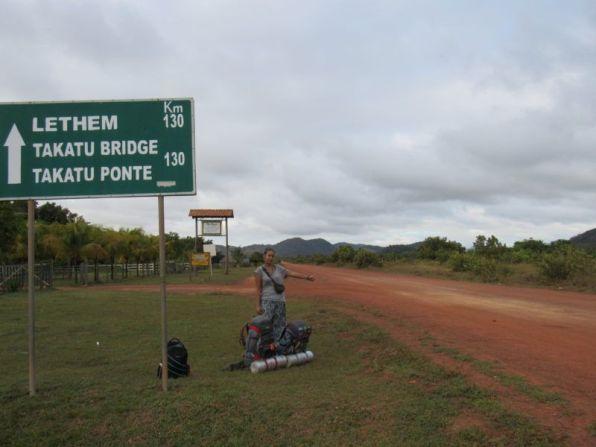 Carol a dedo por las Guayanas, Guyana