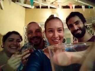 Guayana Francesa Europa en Sudamerica Carol Juan Alex y Raquel