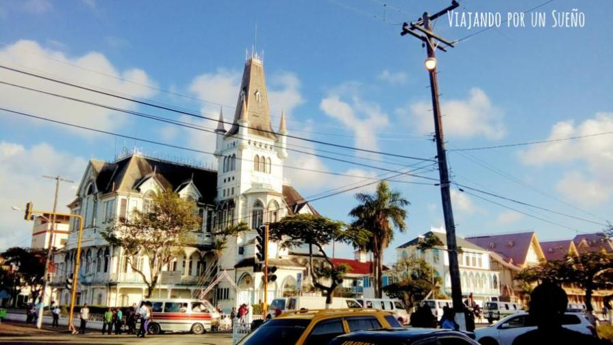 Georgetown Viajando por un Sueño Guayana