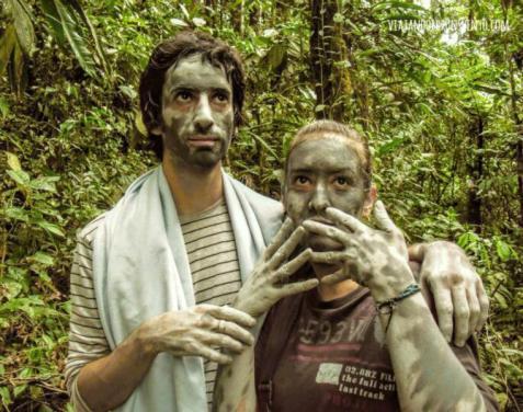 Nosotros arcillados en el amazonas ecuatoriano Vx1S