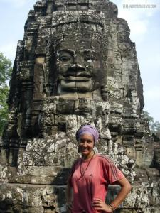 Carol Vx1S Caras Sonrientes Bayon Camboya Angkor