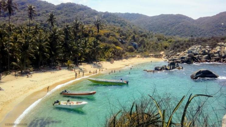 Parque Tayrona por viajando por un sueño cabo san juan