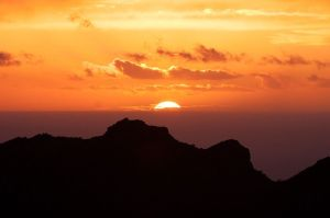 sunset tenerife dos