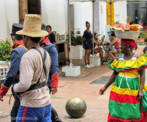 Postal Cartagena Viajando por un sueño