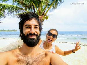 Nosotros San blas Panama Selfie