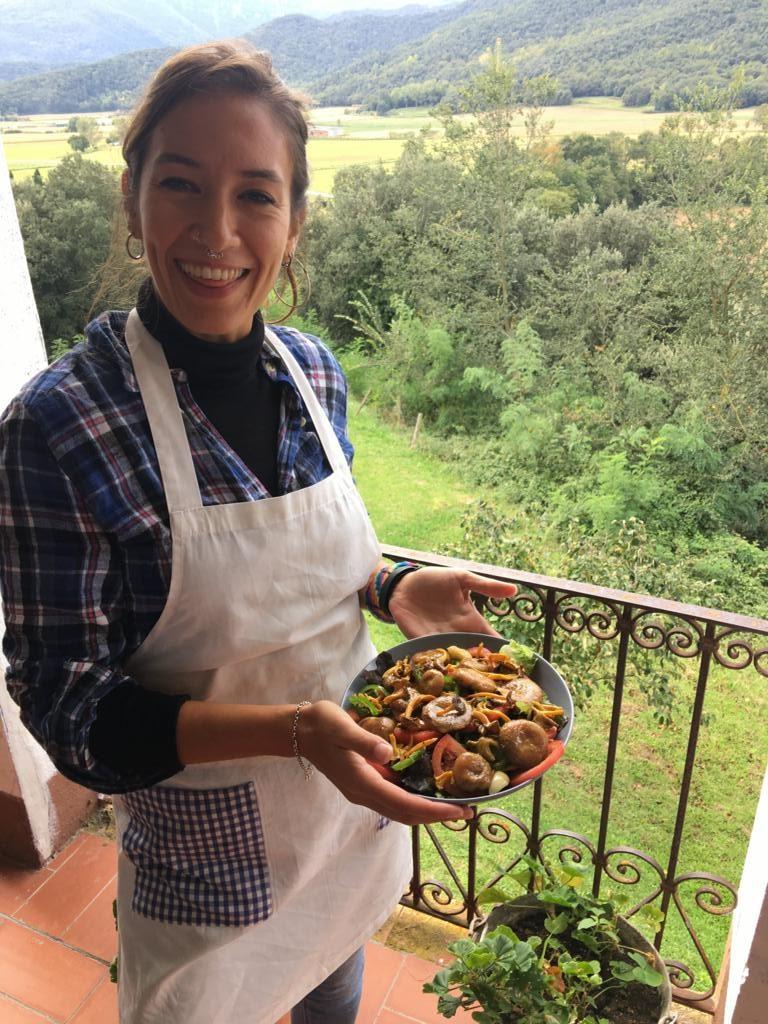 Carol curso cocina Olot
