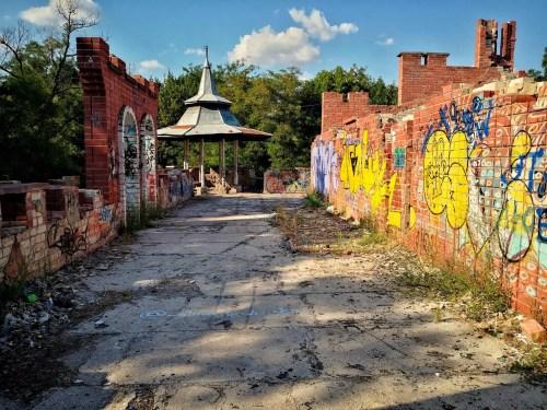 Parque abandonado en Jerson