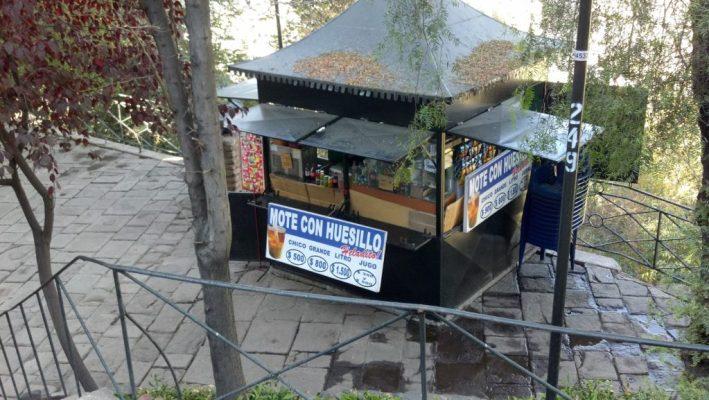 Chile, Santiago, Mote con Huesillo, roteiro no chile, cerro de san cristóbal