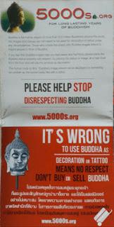 Viagem à Tailândia, budismo, respeito ao Buddha