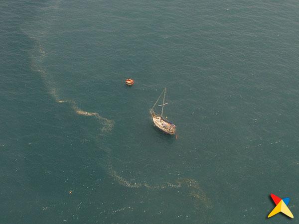 Vista aérea de la Bahía de Capurganá
