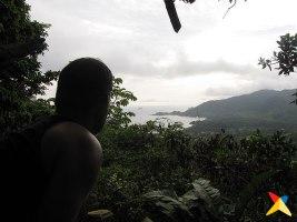 Vista de Sapzurro desde El Mirador