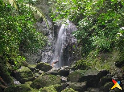 Cascada La Diana en Sapzurro