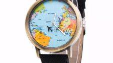 sorteo reloj mapa mundi reloj de viaje