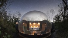 hoteles burbuja Forest Domes hotel domo glamping