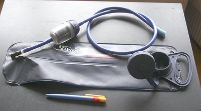 Filtro de carbono, inline de acción por gravedad o succión: Safewater Anywhere, 255 gr