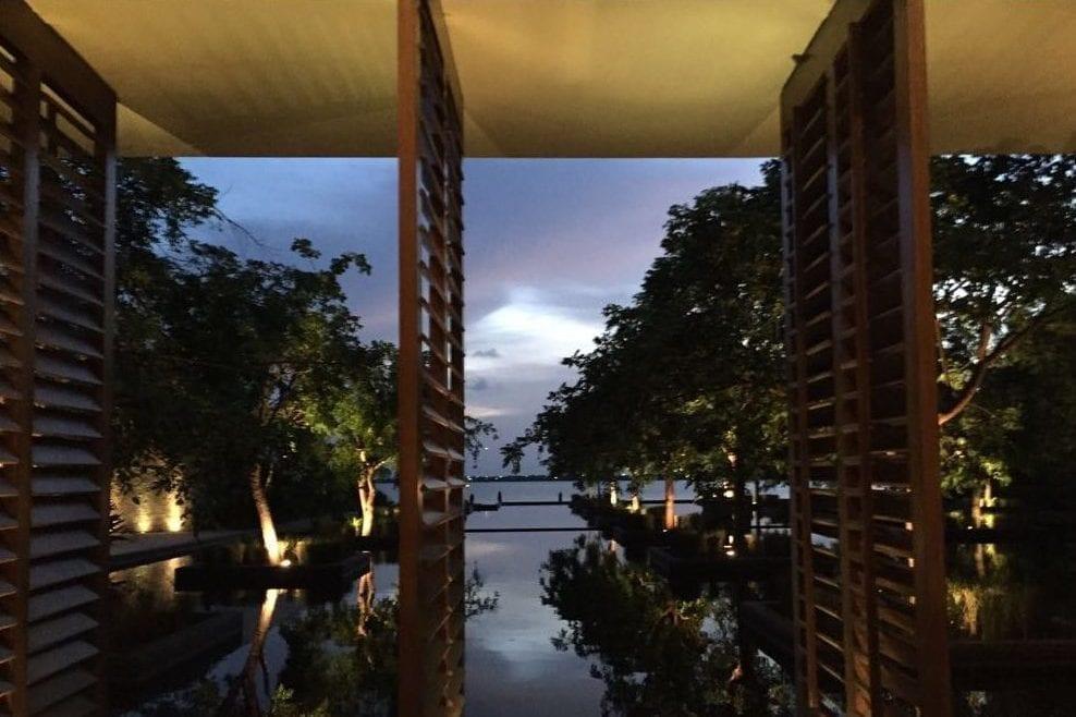 Lobby del hotel Nizuc