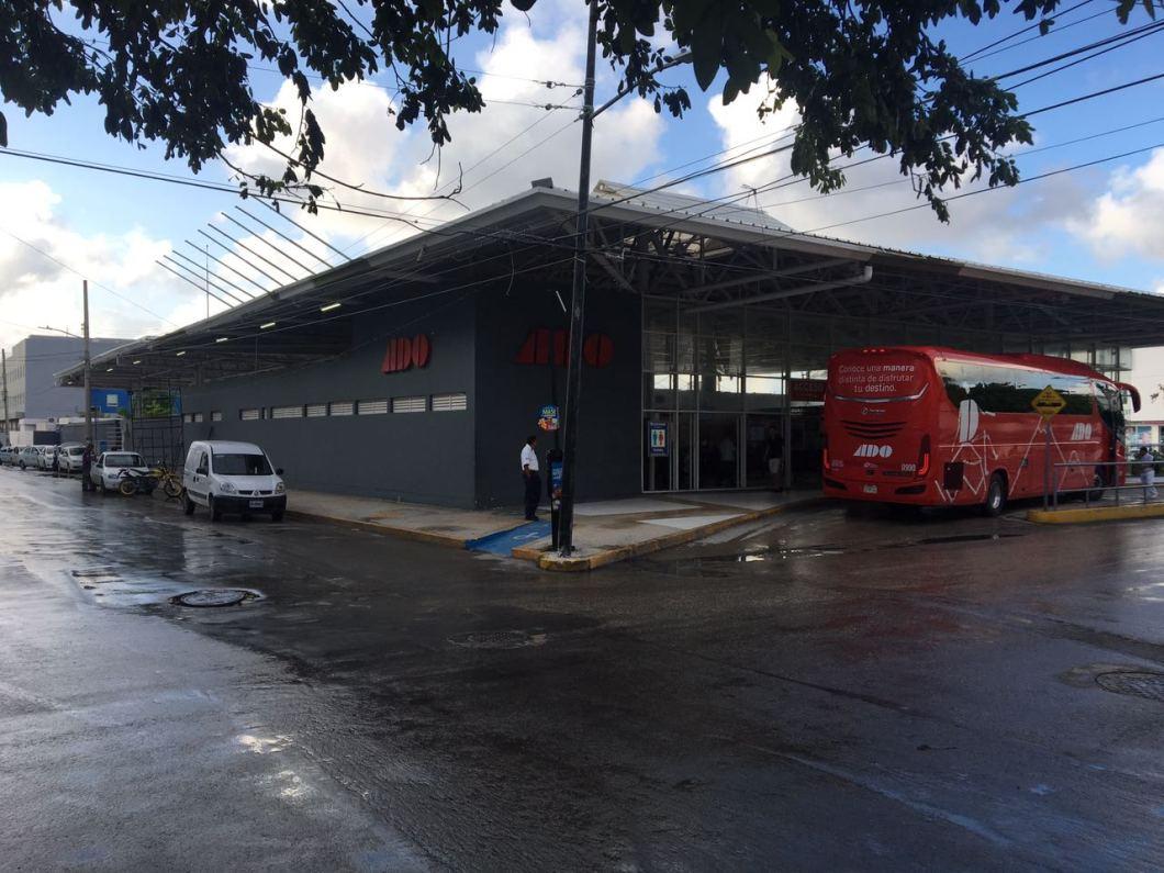 Estación de autobuses ADO en Playa del Carmen