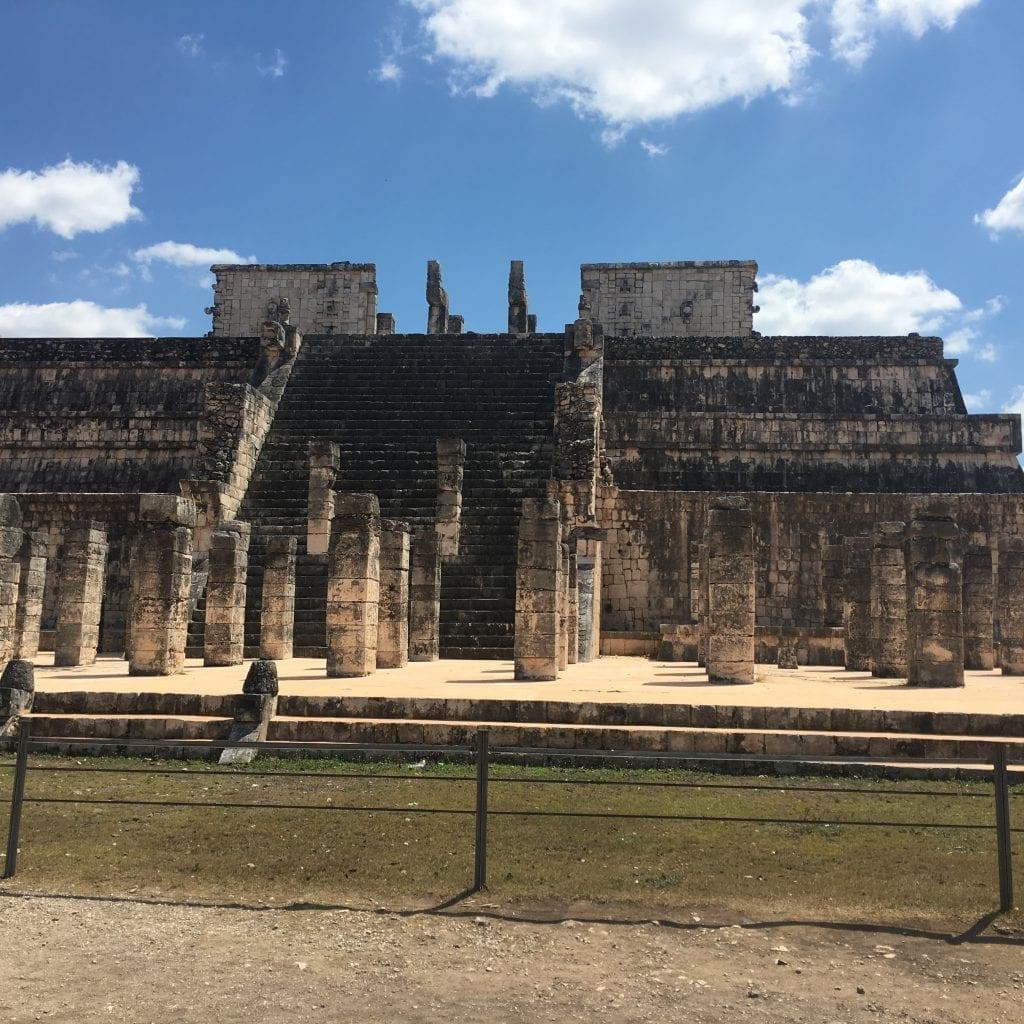Templo de los Guerreros en Chichén Itzá